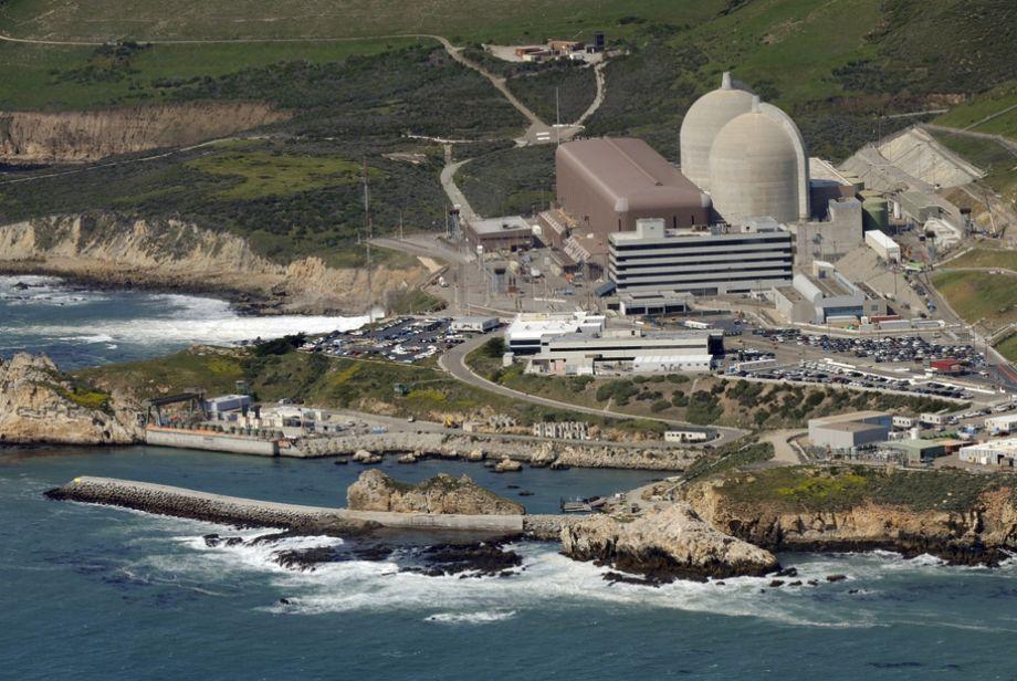 PG&E's aging Diablo Canyon nuclear plant.