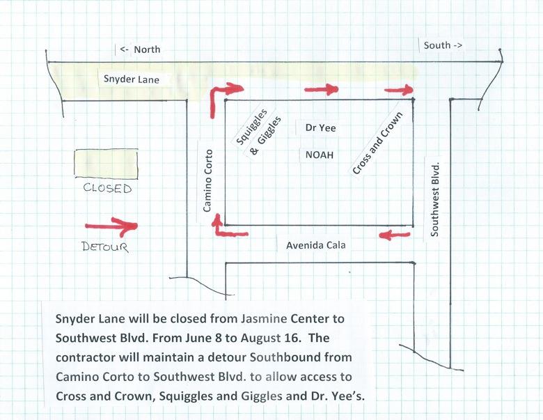 Snyder Detour